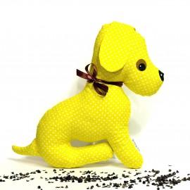 Pohánkový psík žltý puntík