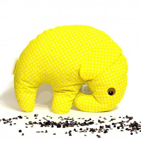 Pohankový sloník žlutý puntík