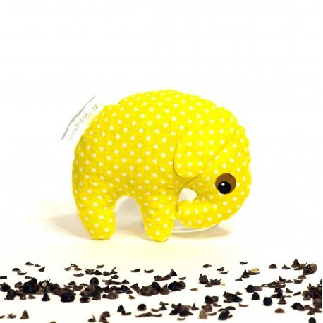 Pohankový sloník žlutý puntík malý