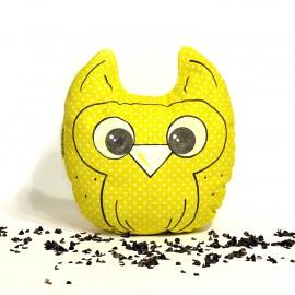 Pohánková sovička žltý puntík