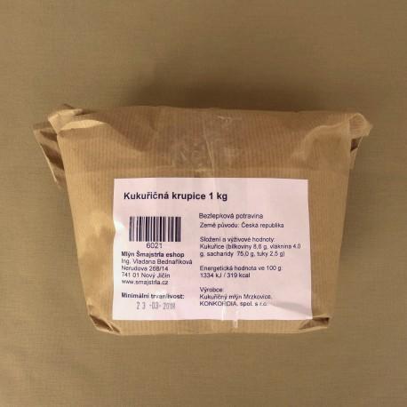 Kukuričná krupica 1 kg