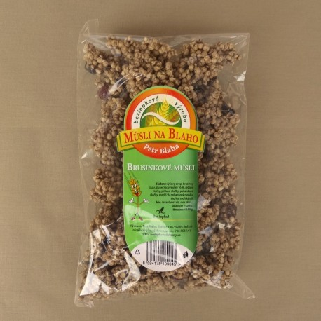 Brusinkové müsli 150 g