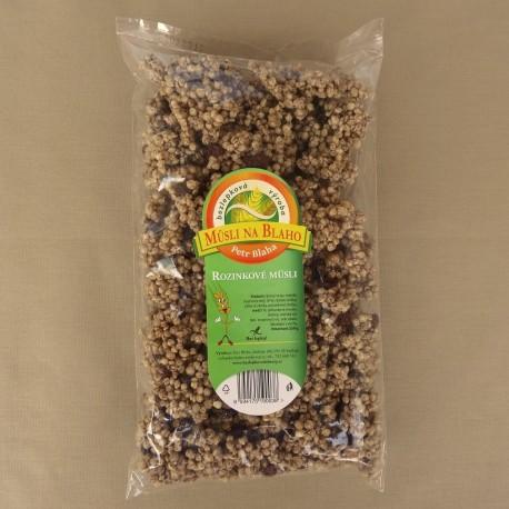 Hrozienkové müsli 250 g