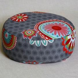 Pohankový meditační sedák 30 x 10 cm mandaly