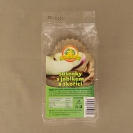 Sušenky s jablkem a skořicí 84 g