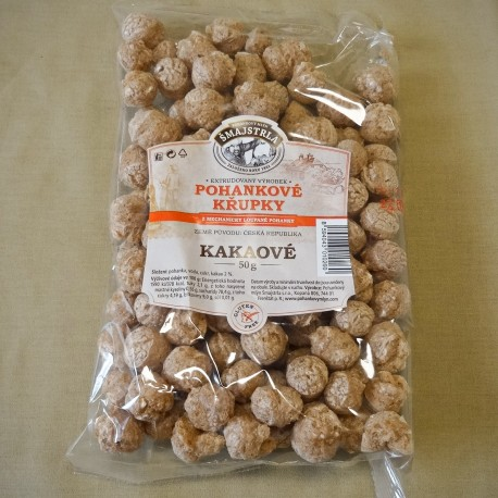 Pohánkové chrumky kakaové Šmajstrla 50 g