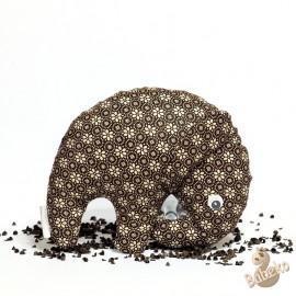 Pohankový sloník hnědý květ