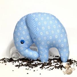 Pohankový sloník modrý květ