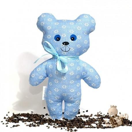 Pohankový medvídek modrý květ