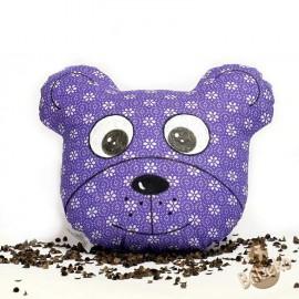 Pohánkový míša hlavička fialový kvet