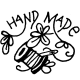 Pohankový míša hlavička tyrkysový puntík