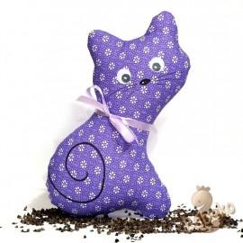 Pohánková mačička fialový kvet