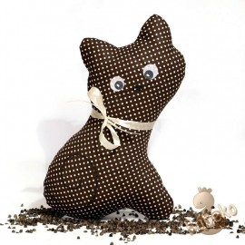 Pohánková mačička hnedý puntík