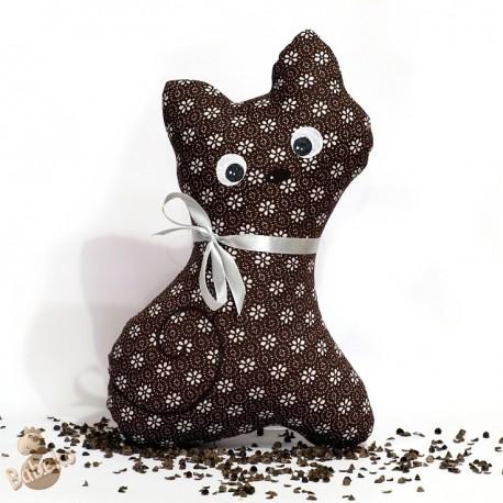 Pohanková kočička hnědý květ