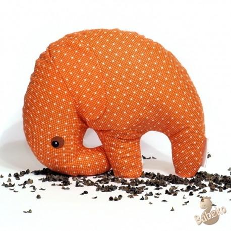 Pohánkový sloník oranžový puntík