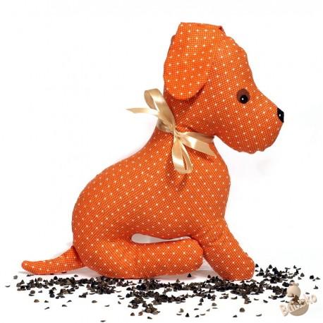 Pohánkový psík oranžový puntík