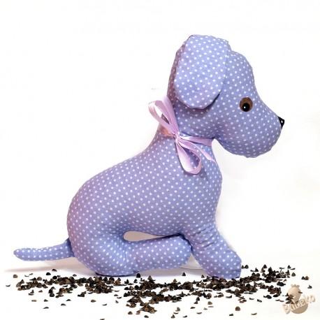 Pohankový pejsek fialový puntík