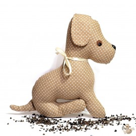 Pohánkový psík béžový puntík
