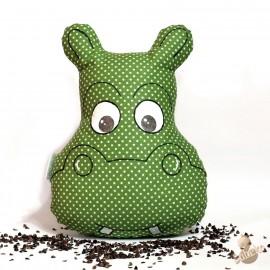 Pohankový hrošík zelený puntík