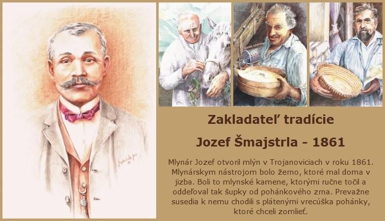 Zakladateľ tradície Jozef Šmajstrla